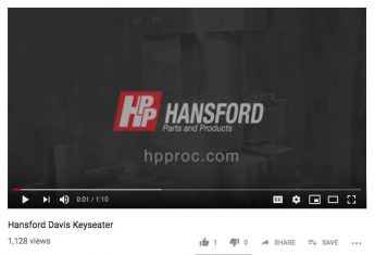 Hansford Parts Products Video