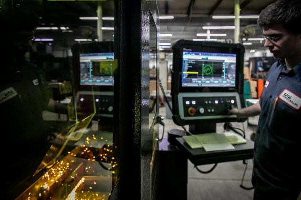 Fiber Laser Cutting- Amada Ensis Series